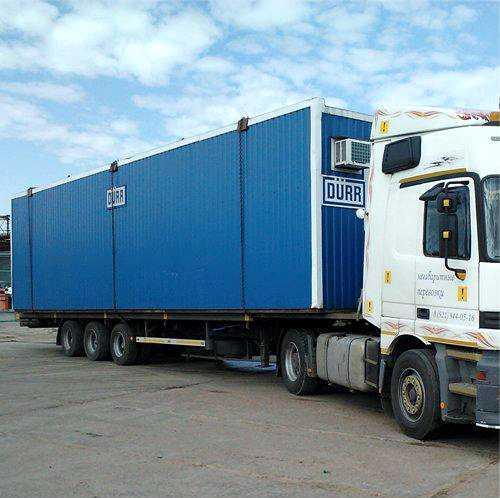 Перевозка контейнеров, бытовок